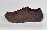 Мужские повседневные кроссовки Dr. Martens, кожа, коричневые, Р. 44