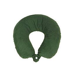Дорожная подушка для путешествий, зеленый