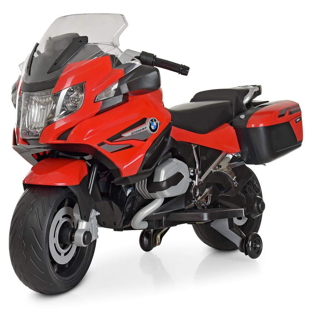 Электромобиль Мотоцикл M 4275E-3 красный BAMBI