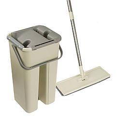 Швабра Easymop Self-Wash с ведром с самоотжимом