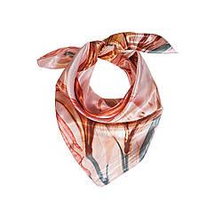 Женский платок, Розовый