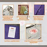 Рюкзак сумка Fjallraven Kanken classic 16 л. канкен классик сиреневый женский, для девочки подростка, фото 10