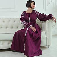 """Вышитое платье """"Марианна"""" PJ-0036"""