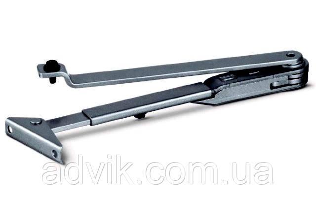 Важільна тяга з фіксацією до доводчикам Geze TS 1000/1500 (чорна)