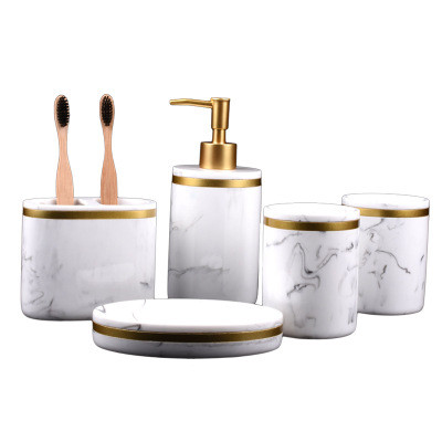 Набір керамічних аксесуарів для ванної 5 предметів RD-120
