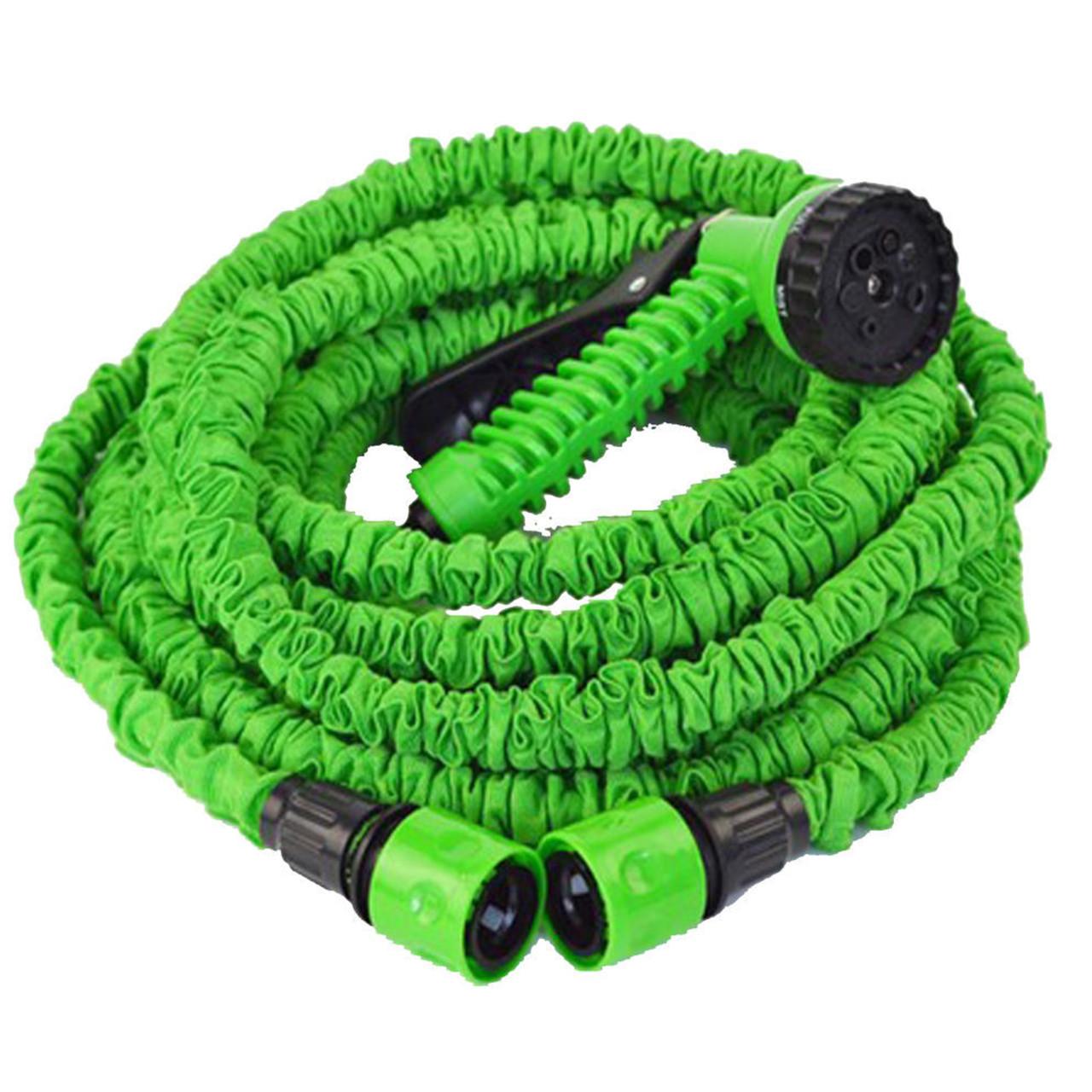 Шланг для полива растяжной Хhose 37.5 м Зеленый