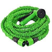 Шланг для полива растяжной Хhose 37.5 м Зеленый, фото 1