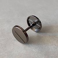 Штанга 19 мм черный никель