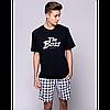 Чоловіча піжама з шортами Sensis Boss pizama M, фото 2