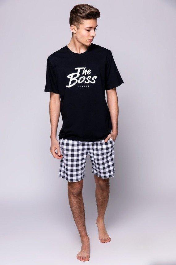 Чоловіча піжама з шортами Sensis Boss pizama M