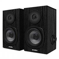 Колонки SVEN SPS-575 (black) Active speakers 2x3W, деревянный корпус