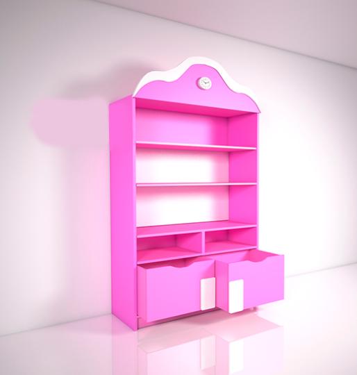 Детский шкаф Design Service Вдохновение (В*Ш*Г) 1900*840*460