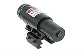 ЛЦУ Тактичний червоний точковий лазер на планку 11-20 мм Fire Wols, фото 4