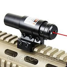 ЛЦУ Тактичний червоний точковий лазер на планку 11-20 мм Fire Wols
