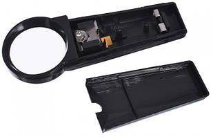 Лупа ручная Zhongdi Industry MG82012 50мм/5х с подсветкой