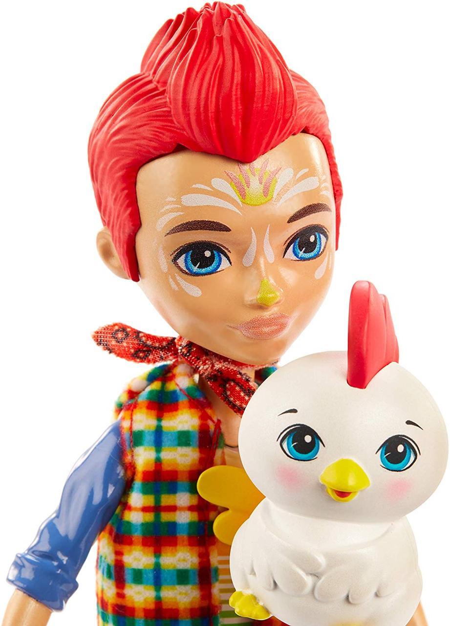 Энчантималс Редвард Рустер с петушком Клак  Enchantimals Redward Rooster & Cluck