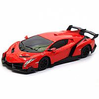 Машинка ігрова автопром «Lamborghini Veneno», 15 см, світло, звук, червоний (7601), фото 4