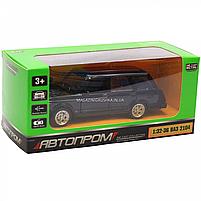 Машинка игровая автопром «ВАЗ-2104» Черный (свет, звук), 14х5х7 см (7505), фото 2