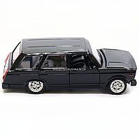 Машинка игровая автопром «ВАЗ-2104» Черный (свет, звук), 14х5х7 см (7505), фото 4