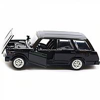 Машинка игровая автопром «ВАЗ-2104» Черный (свет, звук), 14х5х7 см (7505), фото 5