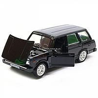 Машинка игровая автопром «ВАЗ-2104» Черный (свет, звук), 14х5х7 см (7505), фото 6