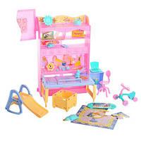 Мебель для кукол Gloria 21019 детская комната cаксессуарами