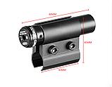 ЛЦУ Тактический красный точечный лазер на ствол, фото 5