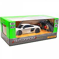 Машинка игровая автопром на радиоуправлении Audi R8 белый (8813), фото 3
