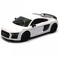 Машинка игровая автопром на радиоуправлении Audi R8 белый (8813), фото 4