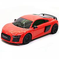 Машинка игровая автопром на радиоуправлении Audi R8 красный (8813), фото 4