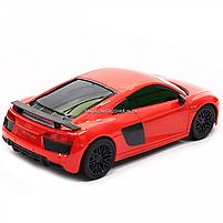 Машинка игровая автопром на радиоуправлении Audi R8 красный (8813), фото 5