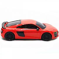 Машинка игровая автопром на радиоуправлении Audi R8 красный (8813), фото 6