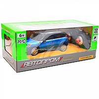 Машинка игровая автопром на радиоуправлении BMW Mini синий (8826), фото 3