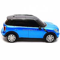 Машинка игровая автопром на радиоуправлении BMW Mini синий (8826), фото 5