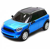 Машинка игровая автопром на радиоуправлении BMW Mini синий (8826), фото 6