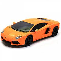 Машинка игровая автопром на радиоуправлении Lamborghini LP700 желтый (8809), фото 4