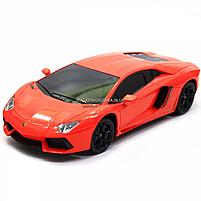 Машинка игровая автопром на радиоуправлении Lamborghini LP700 красный (8809), фото 4