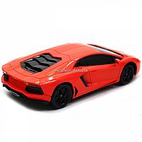 Машинка игровая автопром на радиоуправлении Lamborghini LP700 красный (8809), фото 6