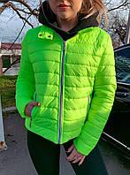 Куртка жіноча демісезонна на підкладці