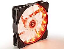 Вентилятор Frime Iris LED Fan 15LED Orange (FLF-HB120O15)