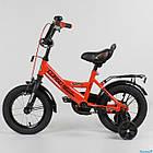 Детский двухколесный велосипед Corso колеса 12 дюймов CL-12 D 0106 красный, фото 2