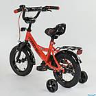 Детский двухколесный велосипед Corso колеса 12 дюймов CL-12 D 0106 красный, фото 3