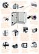 Монтажная панель металическая ETI для шкафов EPC, фото 2