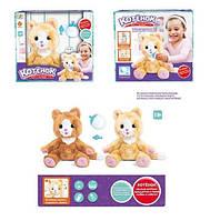 Интерактивная мягкая игрушка Кошечка 2 цвета., фото 1