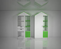 Шкафы детская комната Design Service