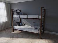 Кровать MELBI Элизабет Двухъярусная 90200 см Бордовый лак КМ-005-03-8бор, КОД: 1398802
