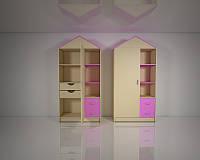 Детский шкаф Design Service Сказка (В*Ш*Г) 1970*1100*350