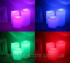 Ночник Luma Candles Color Changing 3 свечи, фото 2