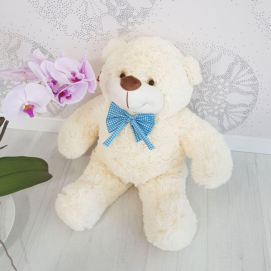 Мягкая игрушка Zolushka Медведь Бо 61 см молочный (580-4)