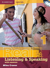 Книга Cambridge English Skills: Real Listening and Speaking 1 with Audio CDs and answers